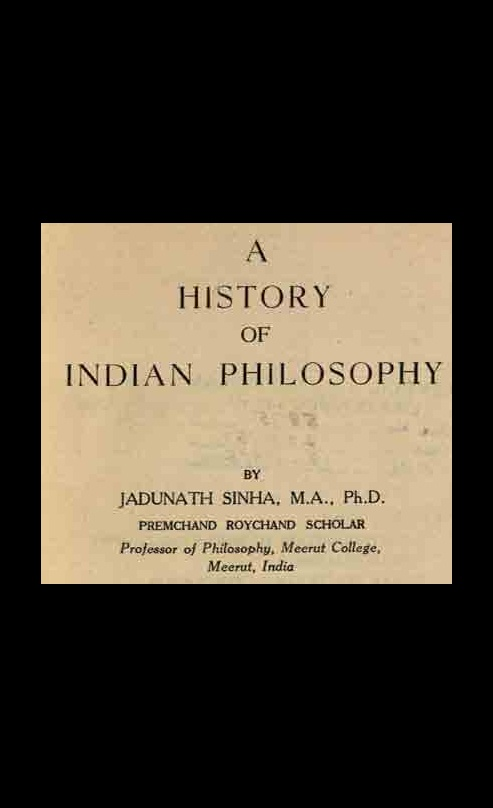 A History of Indian Philosophy Volume 2