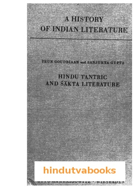 Hindu Tantric And Sakta Literature
